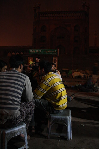 Jama Masjid Night