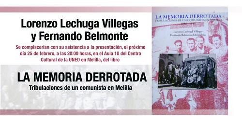 invitación presentación libro Fdo y Lechuga