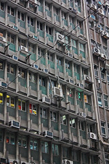 city windows urban building window buildings hongkong cable cables 香港 airconditioners hongkongisland airconditioning