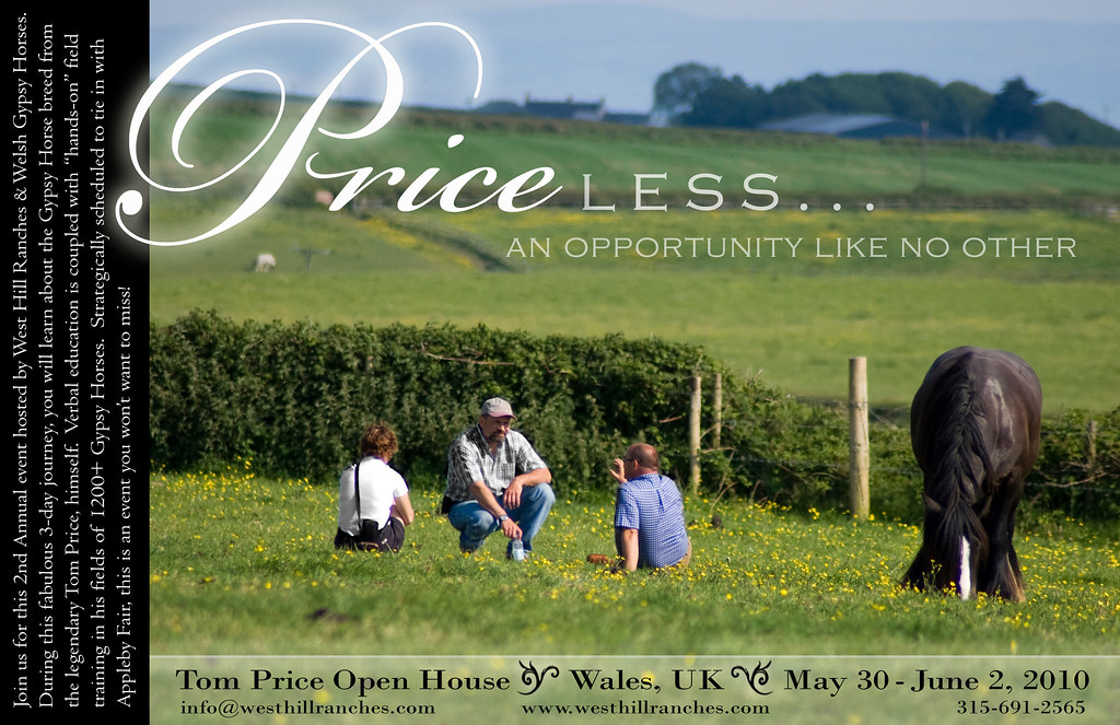 Large Postcard Ad For Tom Price Open House, May 30 - June 2, 2010