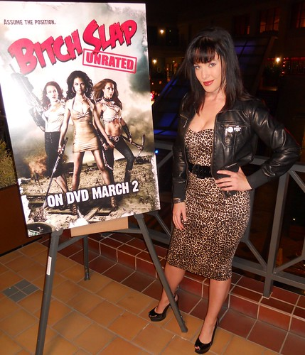 Erin Cummings, Bitch Slap Movie Premiere