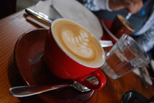 House Blend Coffee - Weak Skinny Flat White - Auction Rooms Cafe AUD3.30