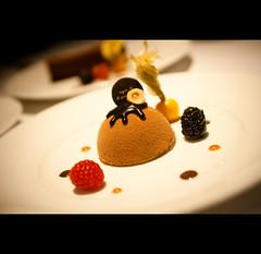 Chlo (zyork_) Tags: b cake french dessert restaurant pain sweet chocolate chloe sugar le pastry feuilletine hazelnut parisian agns spongecake agnsb yummilicious pattiserie project365 grill lepaingrill wmphotography
