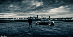 Your move, Seattle. (Mike Gilbert Photography) Tags: me 1755mmf28g nikkor filters audi a6 d300 graduatedfilter cokinp 2010michaelgilbertallrightsreserved