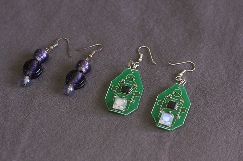 Programmable earrings