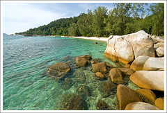 ...on the rocks (Tuomas A. Lehtinen Photography) Tags: ocean travel blue sky beach nature water beautiful rock digital canon landscape outdoors island eos rebel coast rocks asia angle crystal south wide scenic sigma nobody boulder east clear coastal malaysia tropical tropic coastline shallow 1020mm deserted perhentian tranquil breathtaking pulau besar xti 400d platinumheartaward earthasia breathtakinggoldaward yourwonderland doublyniceshot breathtakinghalloffame tripleniceshot mygearandme mygearandmepremium mygearandmebronze mygearandmesilver mygearandmegold mygearandmeplatinum aboveandbeyondlevel1