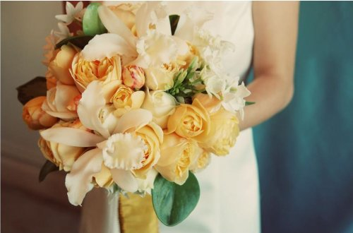 Wedding, Flowers, Bouquet