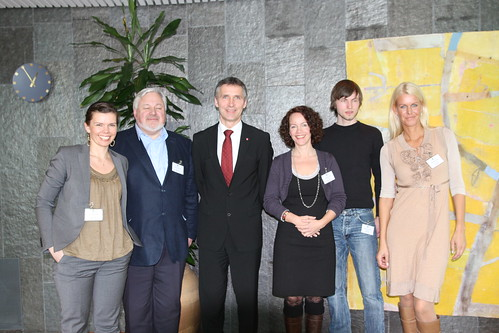 Bloggermøte med statsministeren