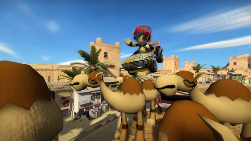 ModNation Racers PS3 Screenshot - Camel Jump