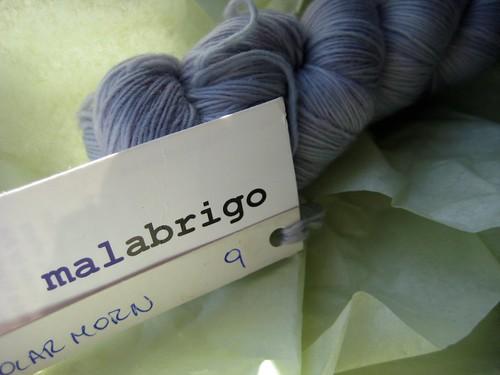 Malabrigo Lace :: Polar Morn