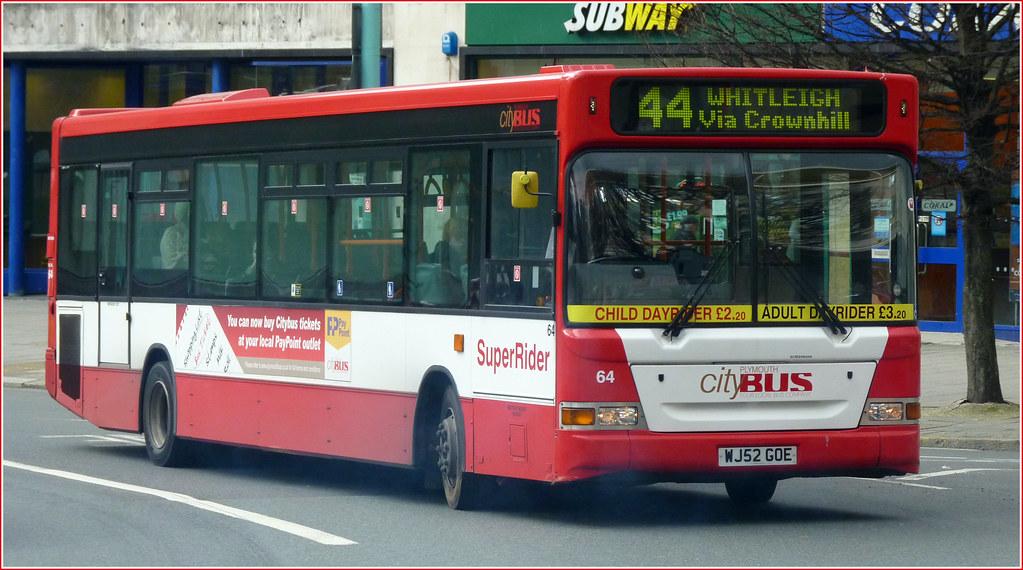 Plymouth Citybus 064 WJ52GOE