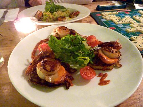 Mexican scallops