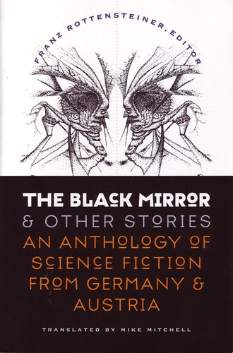 10 The Black Mirror and Other Stories, book cover (illus. is a lithograph by Paul Scheerbart)