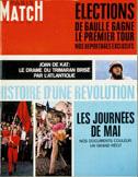 COUVERTURE DE PARIS MATCH n¡999 : HISTOIRE D'UNE REVOLUTION
