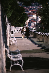 Split, Croatia (*waito) Tags: film town nikon europe fuji village croatia slide split manualfocus fm3a rvp iso50 rvp50 8800f waitoo hillmarjan