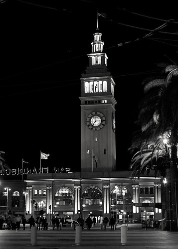70/365 . . . Ferry Building at night