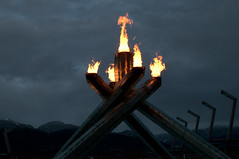 DSC_5062 (the PhotoPhreak) Tags: winter vancouver whistler fire symbol flame olympic cauldron 2010 paralympic