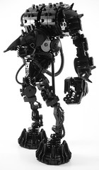 Monstrosity in Black (((Primus))) Tags: monochrome lego technic monstrosity bionicle primus foitsop