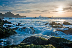 McClures Beach (Bryan Nabong) Tags: ocean california county sunset seascape beach point landscape rocks waves pacific marin reserve national northern reyes mcclure mcclures