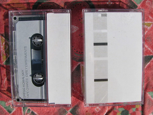 Gregg Kowalsky - Tape Chants: Early Experiments - Arbor