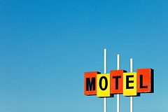 Little Motel Sign (Todd Klassy) Tags: lighting old travel blue vacation sky orange usa color colour industry tourism sign yellow horizontal vintage marquee outdoors hotel discount inn highway montana neon mt budget background text country letters motel bluesky roadtrip havre 1950s signage 1960s lettering copyspace traveling minimalism vacancy aaa summervacation clearsky roadhouse oldfashioned novacancy overnight motorinn travellodge motelsign stockphotography lightingfixtures travelguides complimentarycolors royaltyfree motorlodge smalltownamerica reservations supported motorists americanculture hiline buildingexterior outdoorsigns placestostay travelagencies motelrooms cheaphotels placetostay 19401980retrostyledimagery retrorevival signrepair overnightaccommodation