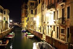 Venice (Gabriele Kahal) Tags: longexposure venice italy night canon eos dawn al long exposure italia dusk venezia venedig notte venetia gabriele jarrah kahal esposizionelunga 1000d canoneos1000d nibbach gabrielekahal