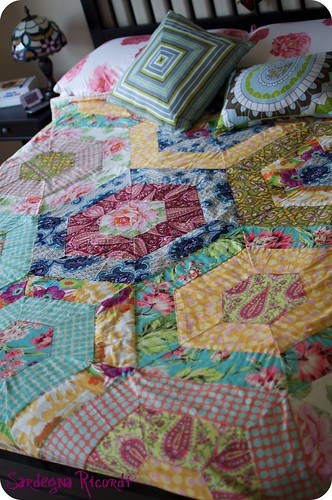Amy Butler, Heather Bailey quilt