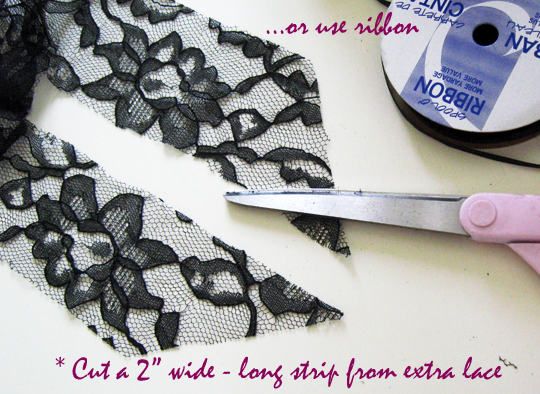 long sheer lace skirt -diy-4
