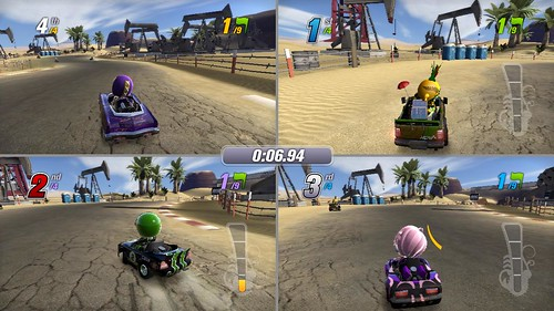 Modnation Racers PS3 Four-Player