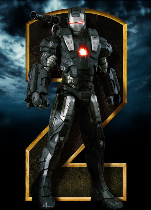 Iron Man 2 War Machine Movie Poster
