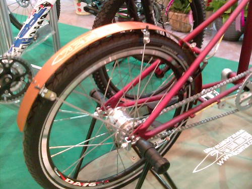 Flat alloy bicycle fenders