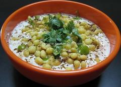 Boondi Raitha (cookatease) Tags: food recipe indian curd raita raitha thayir dahi boondi cookatease boondhi