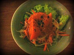 Hiyashi tomato, Omakase course, Chiharu