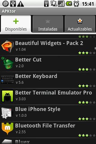 apktor aplicacion android market