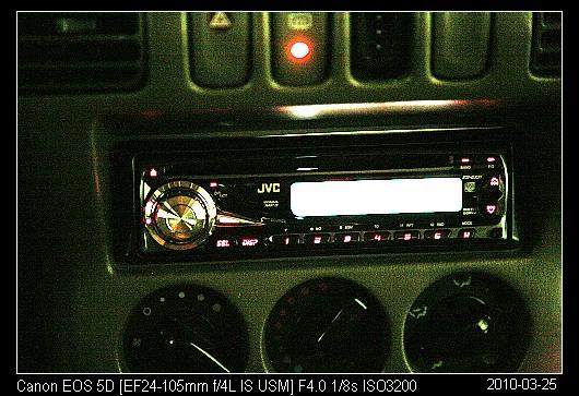 20100325新買的汽車音響