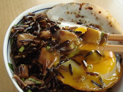 Duck Eggs Over Wild Rice: Take A Bite