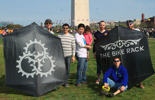 DC Fixed and The Bike Rack Kite Team