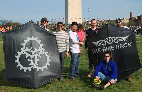 DC Fixed and The Bike Rack Kite Team