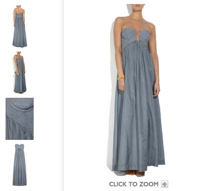 Maxi dress sp 2010 Willow