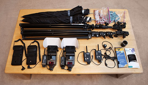 My lighting gear