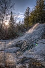 Duchesney Falls Spring 2010 (CUCKOOPHOTHOG) Tags: ontario bay nikon north falls nikkor hdr duchesney 1424mm
