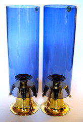 1960s Swedish hurricane lamps