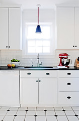 Hillside Avenue Kitchen (Ore Studios) Tags: blackandwhite kitchen interiordesign caravaggio orestudios