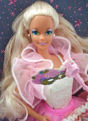Costume Ball Barbie 1990 (Chicomttel) Tags: ball costume barbie mattel inc 1990