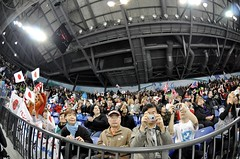 Gold Medal Sledge Hockey: USA vs Japan (mariskar) Tags: usa canada game ice sports hockey japan vancouver silver japanese gold goalie teams team nikon american puck olympics goldmedal silvermedal hockeygame sledge 2010 paralympics vancouver2010 d90 sledgehockey parapalegic nikond90 goldmedalhockey paralympics2010 goodolhockeygame