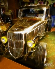 E138A (alan57) Tags: cars photoshop truck montana mt digitalart rusty autos custom rods photoshopelements ratrods rodrun alan57 fractalius welderup pse8
