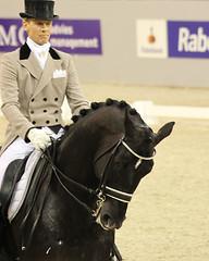 Edward Gal & Moorlands Totilas (Niewazzig) Tags: horses sport champion indoor edward gal denbosch brabant paarden dressage moorlands dressuur paardensport totilas