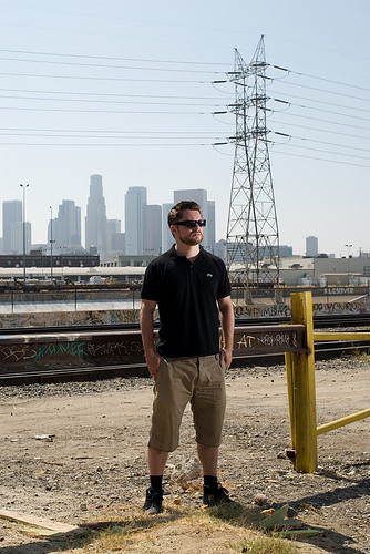 Anders in Downtown Los Angeles