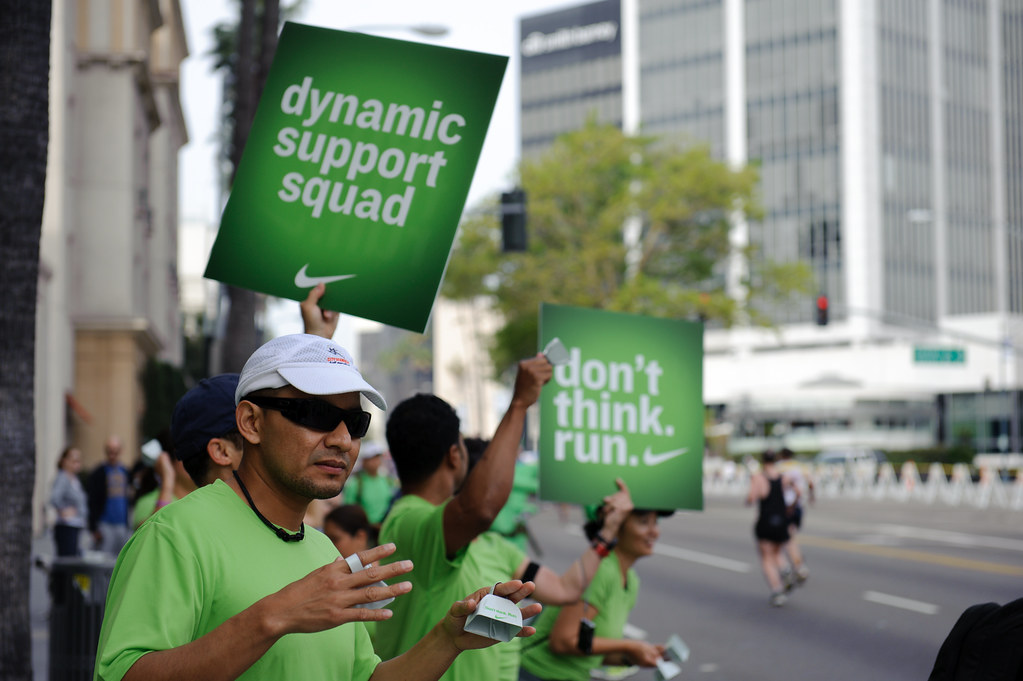 NikeTown LA Marathon 2010