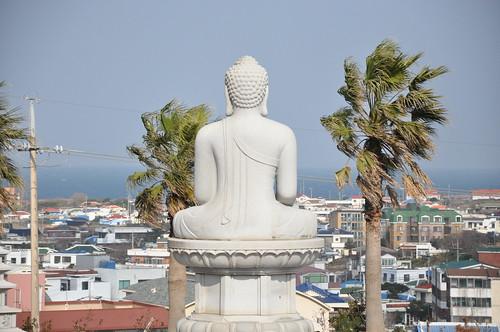 A Buda le gusta el mar